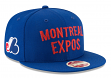 "Montreal Expos New Era 9FIFTY MLB Cooperstown ""Team Thread"" Snapback Hat"