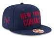 "New York Cubans New Era 9FIFTY Negro League ""Team Thread"" Snapback Hat"