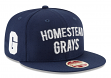 "Homestead Grays New Era 9FIFTY Negro League ""Team Thread"" Snapback Hat"