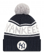 "New York Yankees New Era MLB 9Twenty Cooperstown ""Retro Patch"" Cuffed Knit Hat"