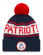 "New England Patriots New Era NFL 9Twenty Historic ""Retro Patch"" Cuffed Knit Hat"