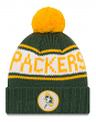 "Green Bay Packers New Era NFL 9Twenty Historic ""Retro Patch"" Cuffed Knit Hat"