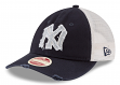 "New York Yankees New Era MLB 9Twenty Cooperstown ""Frayed Twill"" Mesh Back Hat"