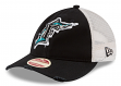 "Florida Marlins New Era MLB 9Twenty Cooperstown ""Frayed Twill"" Mesh Back Hat"