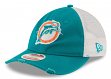 "Miami Dolphins New Era NFL 9Twenty Historic ""Frayed Twill"" Mesh Back Hat"