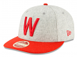 "Washington Senators New Era 9FIFTY MLB Cooperstown ""Melton Wool"" Snapback Hat"