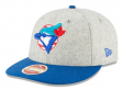 "Toronto Blue Jays New Era 9FIFTY MLB Cooperstown ""Melton Wool"" Snapback Hat"