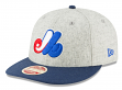 """Montreal Expos New Era 9FIFTY MLB Cooperstown """"Melton Wool"""" Snapback Hat"""