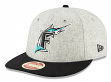 """Florida Marlins New Era 9FIFTY MLB Cooperstown """"Melton Wool"""" Snapback Hat"""