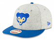 "Chicago Cubs New Era 9FIFTY MLB Cooperstown ""Melton Wool"" Snapback Hat - 1969"