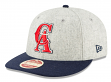 """California Angels New Era 9FIFTY MLB Cooperstown """"Melton Wool"""" Snapback Hat - 1993"""