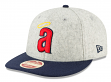 """California Angels New Era 9FIFTY MLB Cooperstown """"Melton Wool"""" Snapback Hat - 1971"""