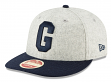 "Homestead Grays New Era 9FIFTY Negro League ""Melton Wool"" Snapback Hat"