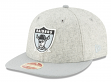 "Oakland Raiders New Era 9FIFTY NFL Historic ""Melton Wool"" Snapback Hat"