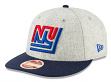 "New York Giants New Era 9FIFTY NFL Historic ""Melton Wool"" Snapback Hat"