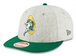 "Green Bay Packers New Era 9FIFTY NFL Historic ""Melton Wool"" Snapback Hat"
