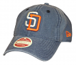 San Diego Padres New Era 9Twenty Cooperstown Classic Wash Adjustable Hat - 1991
