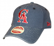 California Angels New Era 9Twenty Cooperstown Classic Wash Adjustable Hat - 1993