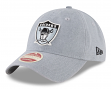 "Oakland Raiders New Era NFL 9Twenty Historic ""Classic Wash"" Adjustable Hat"