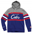 "Chicago Cubs Mitchell & Ness MLB ""Head Coach"" Pullover Hooded Sweatshirt"