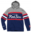 "Boston Red Sox Mitchell & Ness MLB ""Head Coach"" Pullover Hooded Sweatshirt"