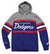 "Los Angeles Dodgers Mitchell & Ness MLB ""Head Coach"" Pullover Hooded Sweatshirt"