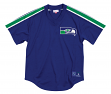 "Seattle Seahawks Mitchell & Ness NFL Men's ""Winning Team"" Mesh Jersey Shirt"