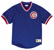 "Chicago Cubs Mitchell & Ness MLB Men's ""Team Win"" Mesh Jersey Shirt"