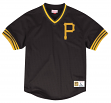 "Pittsburgh Pirates Mitchell & Ness MLB Men's ""Team Win"" Mesh Jersey Shirt"