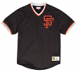 "San Francisco Giants Mitchell & Ness MLB Men's ""Team Win"" Mesh Jersey Shirt"