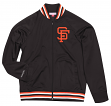 "San Francisco Giants Mitchell & Ness Men's ""Top Prospect"" Full Zip Track Jacket"