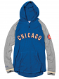 "Chicago Cubs Mitchell & Ness MLB Men's ""Slugfest"" Lightweight Hooded Shirt"