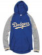Los Angeles Dodgers Mitchell & Ness MLB Men's Slugfest Lightweight Hooded Shirt