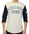 "Chicago Cubs Mitchell & Ness MLB Men's ""Wild Pitch"" 3/4 Sleeve Premium Shirt"
