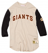 "San Francisco Giants Mitchell & Ness Men's ""Wild Pitch"" 3/4 Sleeve Premium Shirt"