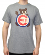 "Chicago Cubs MLB Mitchell & Ness ""XL Logo"" Vintage Premium Men's T-Shirt"