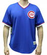 "Chicago Cubs Mitchell & Ness MLB Men's ""Game Winner"" Mesh Jersey Shirt"
