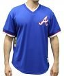 "Atlanta Braves Mitchell & Ness MLB Men's ""Game Winner"" Mesh Jersey Shirt"
