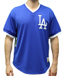 "Los Angeles Dodgers Mitchell & Ness MLB Men's ""Game Winner"" Mesh Jersey Shirt"