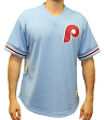 "Philadelphia Phillies Mitchell & Ness MLB Men's ""Game Winner"" Mesh Jersey Shirt"