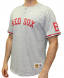 "Boston Red Sox Mitchell & Ness MLB ""The Victory"" Short Sleeve Henley Shirt"