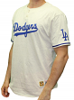 "Los Angeles Dodgers Mitchell & Ness MLB ""The Victory"" Short Sleeve Henley Shirt"