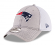 "New England Patriots New Era NFL 39THIRTY ""Classic Shade Neo Gray"" Flex Fit Hat"
