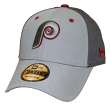 "Philadelphia Phillies New Era MLB 9Forty Cooperstown ""The League Pop"" Gray Hat"