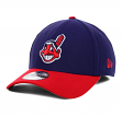 Cleveland Indians New Era MLB 39THIRTY Team Classic Flex Fit Hat - Home