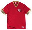 "San Francisco 49ers Mitchell & Ness NFL ""Win"" Vintage Premium T-Shirt"