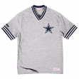 "Dallas Cowboys Mitchell & Ness NFL ""Win"" Vintage Premium T-Shirt - Gray"