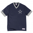 "Dallas Cowboys Mitchell & Ness NFL ""Win"" Vintage Premium T-Shirt - Navy"
