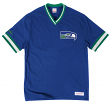 "Seattle Seahawks Mitchell & Ness NFL ""Win"" Vintage Premium T-Shirt"