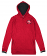 San Francisco 49ers Mitchell & Ness NFL L/S Hooded Men's Shirt - Size SMALL